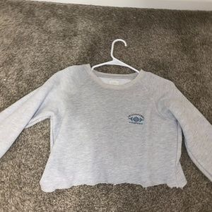 Billabong cropped sweatshirt